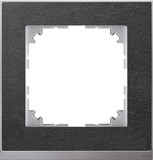 Merten Decor-Rahmen 1-fach Schiefer/aluminium MEG4010-3669