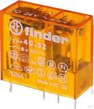 Finder Steck/Printrel. 230VAC2W 8A Raster 5mm Gold-K. 40.52.8.230.5000