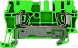 Weidmüller Schutzleiterklemme 2,5qmm grün ZPE 2.5