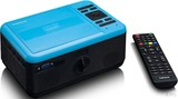 Lenco LCD Projektor DVD,BT,HDMI,USB,SD LPJ-500BU Blue