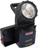 Fischer Leuchten LED-Handscheinwerfer mit Notlichtfunktion JobLED2