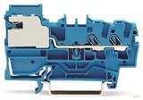 WAGO 2-Leiter-N-Trennklemme blau 2002-7214