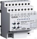Gira 216000 Rollladenaktor 4fach 230V AC KNX EIB REG