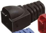 Telegärtner Knickschutztülle für MP8 FS, schwarz B00080F0089 (100 Stück)