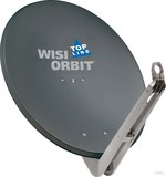 Wisi Offset-Antenne 85cm, anthrazit OA 85 H OA85H Graphit