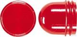Jung Schraubhaube flach rot für Lichtsignal 37.05