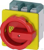 Siemens Haupt-/Not-Aus-Schalter 3p. 100A 37kW/400V 3LD2704-0TK53