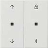 Gira Jalousie- + Schaltuhr Bluetooth Sys. 55 reinweiß (rws) 536703