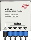 Astro Optischer Verteiler 8dB 4-fach AOS 48