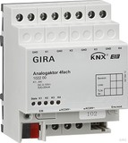 Gira 102200 Analogaktor 4fach KNX EIB REG