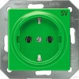 Siemens Schuko-Dose Delta Vita, grün 5UB1910