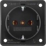 Berker Steckdose schwarz MOBIL R 9418505
