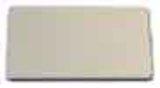Eaton / Möller Einlegeschild 18x27 aluminium blanko M22-XST