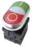 Eaton / Möller Doppeldrucktaster X1/X0/K11/230-W M22-DDL-GR #216509