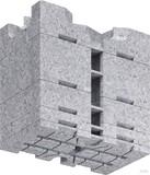 Kaiser Aufstockelement für Einbaugehäuse 1159-71