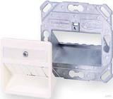Tyco Electronics Anschlussdose SL-Modul 3-fach, rws, 50x50 0-1711485-2