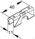 Niedax Deckelhaltefeder RDHF 9 E2