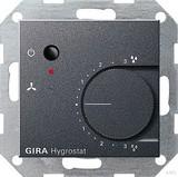 Gira 226528 Hygrostat System 55 Anthrazit