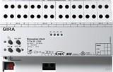 Gira 217400 Universal Dimmaktor 4fach 4x250 W KNX EIB REG