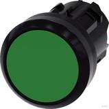 Siemens Drucktaster 22mm, rund, grün 3SU1000-0AB40-0AA0