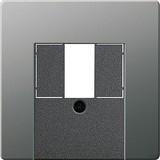Gira 087620 Abdeckung TAE+Stereo+USB E22 Edelstahl