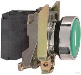 Schneider Electric Drucktaster flach, gn, 1S XB4BA31