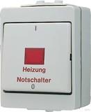 Jung Heizung Notschalter Aus 3-pol. 603 HW