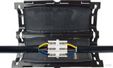 Cellpack Gel-Verbindungsmuffe mit Verbinderblock EASY 2 V #389676