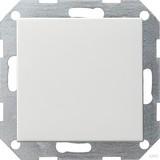 Gira 012603 Tastschalter Wechsel System 55 Reinweiß glänzend