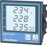 Janitza Electronic Netzanalysator 90-277VAC, 90-250VDC UMG 96RM-EL #5222068