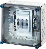 Hensel Sicherungsgehäuse 1xNH00 3p. 125A+PE+N MI 5250