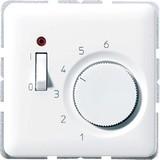 Jung Raumtemperaturregler alpinweiß (aws) 1-polig Öffner AC230V TR CD 231 WW