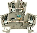Weidmüller Klemme mit Einbau WDK 2.5 LD1D2R230VAC (25 Stück)