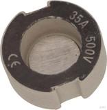 Mersen D-Schraub-Paßeinsatz D III, 35A schwarz 1658.035