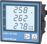 Janitza Electronic Netzanalysator 90-277VAC, 90-250VDC UMG 96RM-E #5222062