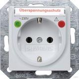 Siemens Schuko-Dose Delta Vita, aluminium met 5UB1936