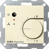 Gira 226501 Hygrostat System 55 Cremeweiß