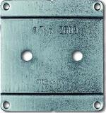 Busch-Jaeger Montageplatte 1-fach 2609 WS