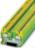 Phoenix Contact Schutzleiterreihenklemme 0,2-6qmm,grün-gelb PT 4-PE