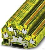 Phoenix Contact Schutzleiter-Reihenklemme 5,2 mm, grün-gelb PTTBS 2,5-PE