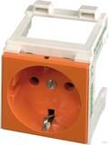 Murrelektronik Schaltschranksteckdose VDE 250VAC/16A orang 4000-72000-0140000