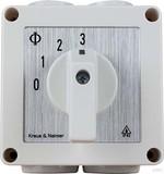 Etherma Stufenschalter Stufen1-2-3,IP42 ET-S123