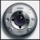 Gira 126566 Farbkamera für Türstation TX_44 (wassergeschützt unterputz) Reinweiß
