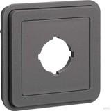 Berker Einsatz mit Stecköffnung grau matt 42913505