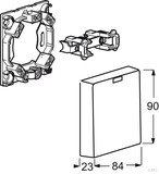 Busch-Jaeger Herdanschlußdose 3741 UJ