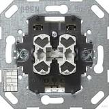 Gira 018500 Taster BA 2fach 2 Punkt KNX EIB Einsatz