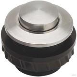 Grothe Klingeltaster rund 11,5mm Knopf V2A, Hülse V2A PROTACT 450 VA