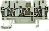 Weidmüller Durchgangsklemme 2,5qmm beige ZDU 2.5/3AN