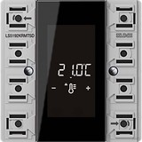 Jung KNX Raumcontroller-Modul Kompakt 2-fach LS 5192 KRM TS D