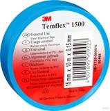 3M Elektroisolierband 15mm x10m blau TemFlex 1500 15x10bl